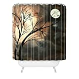DENY Designs Madart Lost Moon Shower Curtain, 69-Inch by 72-Inch
