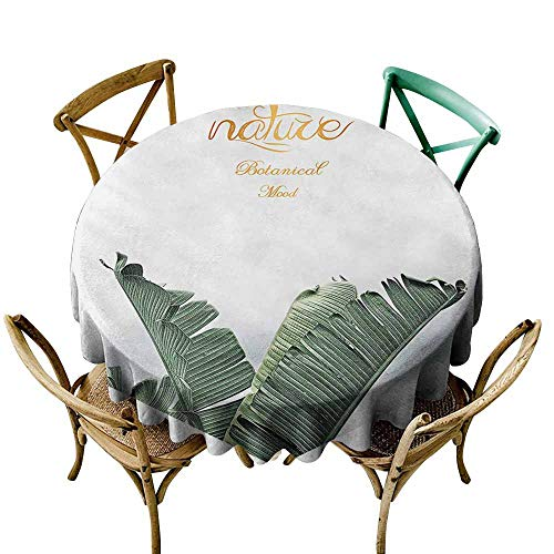 (Multifunctional Table Cover Texture for Design. Can be Used as Background, Wallpaper (2) D36,Round Tablecloth)