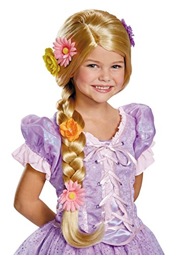 Rider Girl Costume (Rapunzel Disney Princess Tangled Prestige Child Wig)