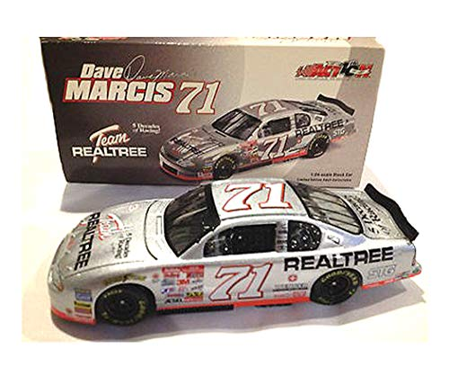 Action 1/24 Scale Dave Marcis NASCAR 2002 Chevy Monte Carlo - Team Realtree Race Car