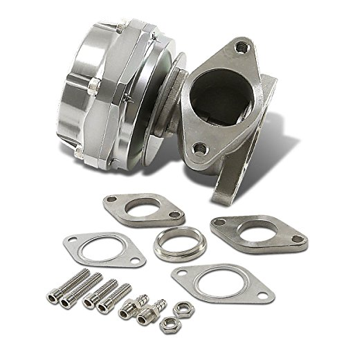 Silver Type-3 38mm External Turbo Manifold Wastegate with Dump Ring (External Wastegate)