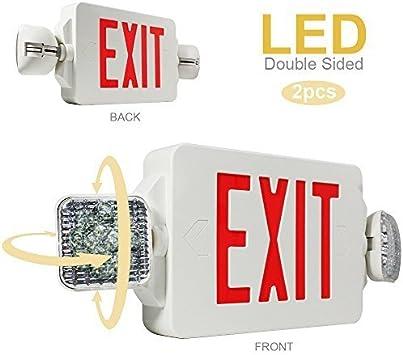 EL5SB-1 Battery Powered LED Emergency Lighting Fixture New Two e-Top Lighting