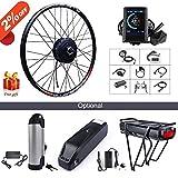 "500W 36V/48V Hub Motor Electric Bike Conversion Kit for Kinds of Bicycle 20"""