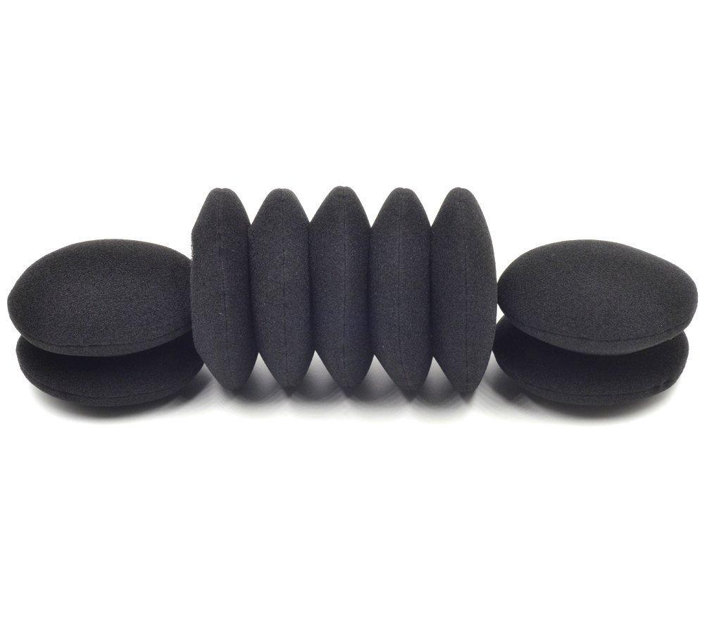 Caokk Replacement Ear Pads 5 Pairs Soft Earpads Compatible for Logitech G330 Headphones Headset,Foam Cushions Pillow Covers Cups Repair Parts
