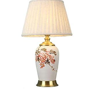 Lámparas de escritorio Lámpara de mesa, toda de cobre ...