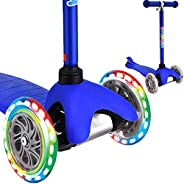 3 Wheel Scooters for Kids, Kick Scooter for Toddlers 2-6 Years Old, Boys and Girls Scooter with Light Up Wheel
