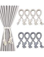 8 stuks gordijnen koord gordijn touw embrasses venster gordijn gordijnhouder gordijnband gesp handbreien