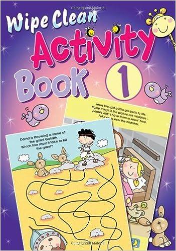 Book Wipe Clean Activity Book: Bk. 1
