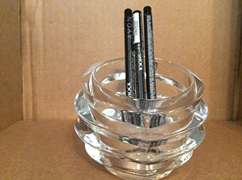 Avon SuperShock Gel Eye Liner Pencil Blackout N01 Lot 3 pcs