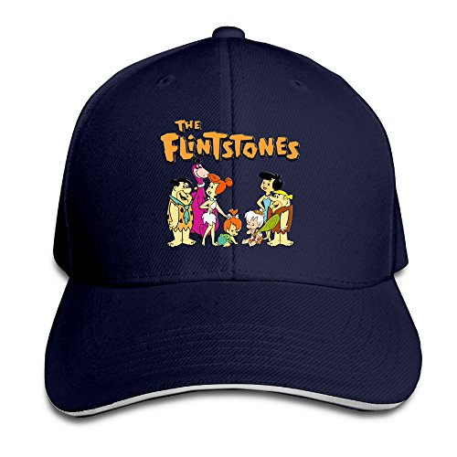 [Logon 8 The Flintstones Unisex Baseball Cap Navy One Size] (Fred And Wilma Costumes To Make)