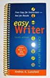 Complimentary Copy for EasyWriter, Lunsford, 0312583885