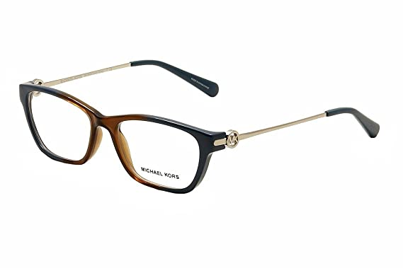 eb7a00f3e8 Michael Kors Deer Valley Eyeglasses MK8005 3007 Brown Blue Ombre 52 16 140