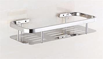 Badezimmer Regal Badezimmer Küche Multifunktions Regale / Lagerregal  Edelstahl Bad / Saug Wandregal Badezimmer Regale