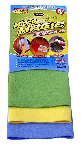 Micro Magic Towel (3 Pack) (Towel Magic)