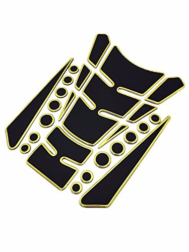Niree Motorcycle Tank Gas Protector Pad Sticker Decal for Yamaha YZF R6 1999-2004 YZF R1 2002-2003 FZ1 FAZER 2001-2005 R6S USA VERSION 2006-2009 R6S CANADA VERSION 2007-2009 (A05#)