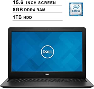 2019 Newest Dell Inspiron 15 3583 15.6 Inch HD Laptop (8th Gen Inter 4-Core i7-8565U up to 4.6GHz, 8GB DDR4 RAM, 1TB HDD, Intel UHD Graphics 620, WiFi, Bluetooth, HDMI, Windows 10) (Renewed)