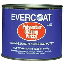 Fibreglass Evercoat 400 Polyester Glazing Putty - 36 oz. Can