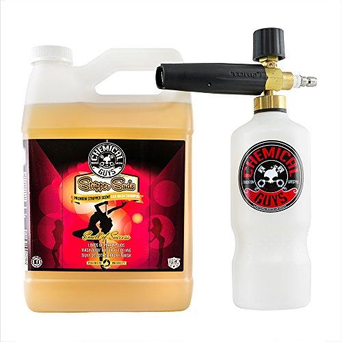 Chemical Guys EQP316 Torq Professional Foam Cannon and Stripper Suds Car Wash Soap (1 Gal), 128 fl. (Suds Foam)