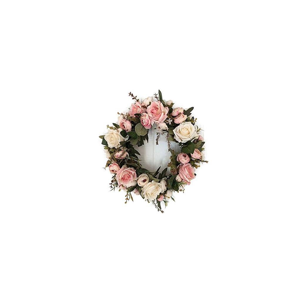 Haperlare-Peony-Hydrangea-Wreath-Floral-Artificial-Simulation-Garland-Wreath-for-Home-Party-Decro