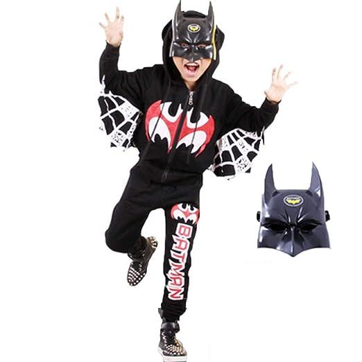 GEXING Disfraz de rol Infantil de Halloween Muchacho Cosplay ...