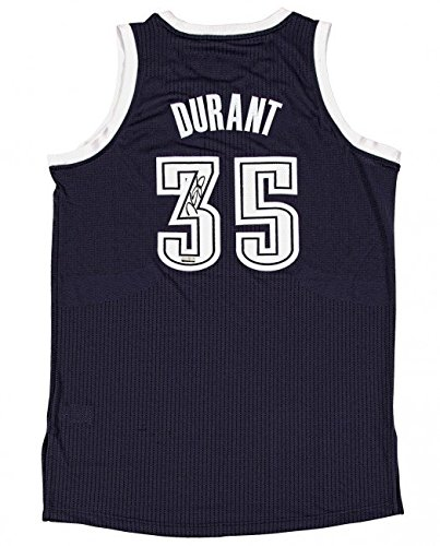 purchase cheap f1668 bf5d0 Kevin Durant Signed Oklahoma Thunder AUTHENTIC Jersey ...
