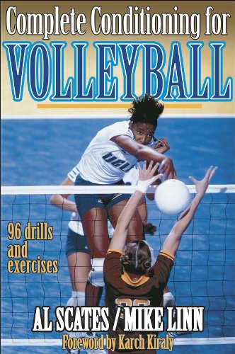 Complete Conditioning For Volleyball  Complete Conditioning For Sports Series