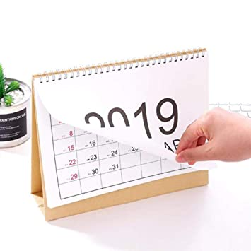Grea 2pcs 2019 Año Multifunción Calendario de Pared ...