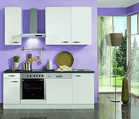idealShopping GmbH Bloque de Cocina (con Lavavajillas y ...
