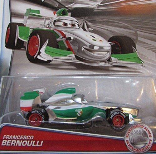 DISNEY PIXAR CARS 2015 RELEASE FRANCESCO BERNOULLI SILVER RACER SERIES EXCLUSIVE DIE-CAST Silver Racer Series