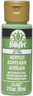 product image for FolkArt Acrylic Paint in Assorted Colors (2 oz), 408, Green