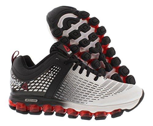 Reebok Z Jet Run Running Gradeschool Kid's Shoes Size Black/White/Red j58uQ0L23