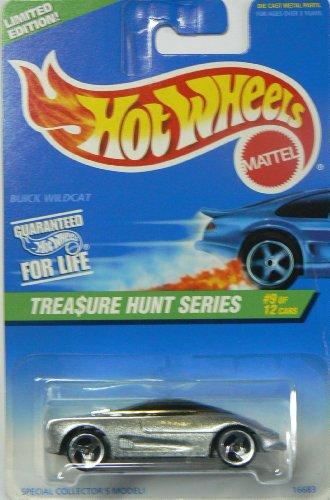 - hot wheels silver buick wildcat treasure hunt series 9 of 12 1996