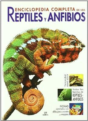 Enciclopedia Completa de los Reptiles y Anfibios Grandes Obras: Amazon.es: Halliday, Tim, Adler, Kraig, Sevillano Ureta, María Jesús: Libros