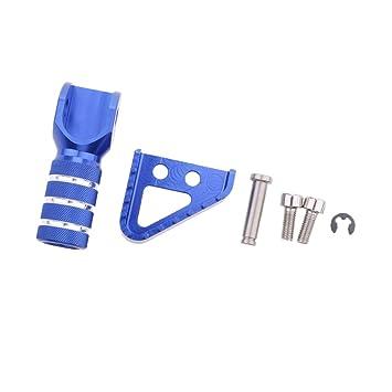 MagiDeal Placa de Freno Trasero Pedales de Embrague CNC Reemplazo para KTM Motocicleta #Azul: Amazon.es: Coche y moto