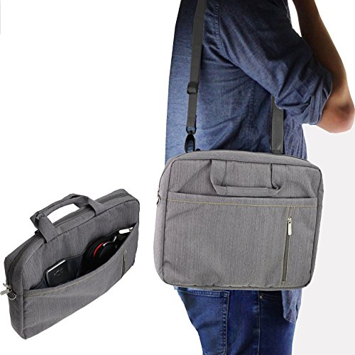 Navitech Grey Graphics Tablet Case/Bag Compatible with The U