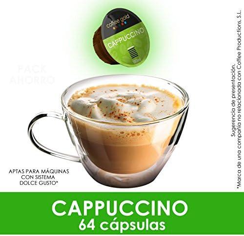 CAPPUCCINO   x64 - Aptas máquinas Dolce Gusto®*: Amazon.es ...