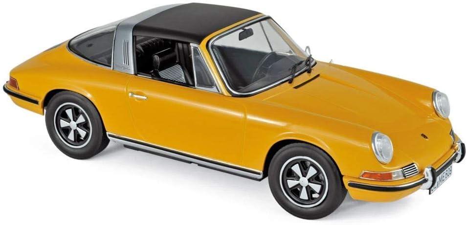 Amazon.com Norev 1969 Porsche 911 E Targa Orange with Black