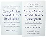 img - for Plays, Poems, and Miscellaneous Writings associated with George Villiers, Second Duke of Buckingham: Two-volume Set (v. 1 & 2) book / textbook / text book