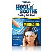 Kool 'n' Soothe Migraine Cooling Strips – 4 Strips