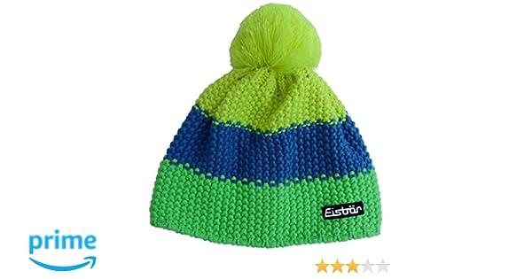 Eisbär Mütze Star Neon Pompon MÜ Kids - Gorro de esquí para niño ... ad5d854b78a