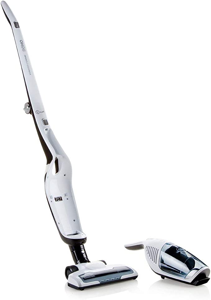 Domo DO217SV Sin bolsa 0.5L Negro, Blanco aspiradora de pie y ...