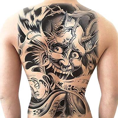 Tatuajes temporales, imagen grande tatuaje resistente al agua y ...