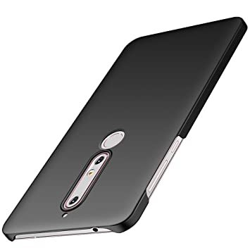 promo code 4d5e9 68735 Anccer Nokia 6 2018 Case [Colorful Series] [Ultra-Thin] [Anti-Drop] Premium  Material Slim Full Protection Cover For Nokia 6 2018 (Smooth Black)