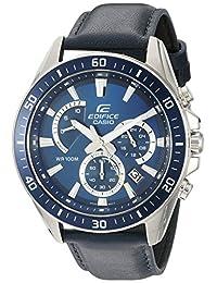 Casio Men's EFR-552L-2AVCF Edifice Analog Display Quartz Blue Watch