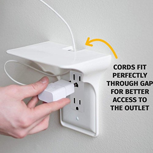 Goodlock Ultimate Outlet Shelf Easy Installation Wall Outlet Shelf Power Perch Shelf by Goodlock (Image #5)