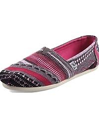 Women's Classics Fuchsia Tribal Jersey Loafer