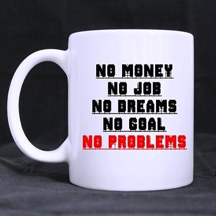 Amazon.com: White Mug - Simple Funny Says \