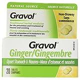 Gravol Natural Source Ginger Tablets, 500mg
