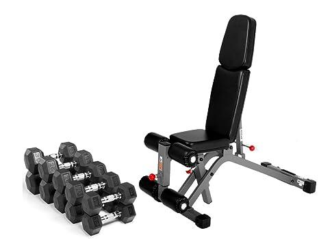 Combo ofrecen XMark Fitness soporte de inclinación disminución peso banco xm-7628 con Premium calidad