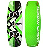 Ocean Rodeo Origin 3.0 Kiteboard, 142cm x 42cm (Gen 3.0, Green/Black)